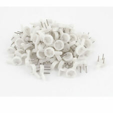 50 Small Wall Hook Drywall Nail Plastic Wall Hanger Picture Frame Mirror