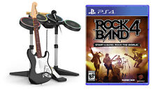 Official Rock Band 4 Band in a Box Bundle PS4 Game + Warranty!!!