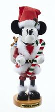 Steinbach Disney Mickey Mouse With Candy Cane German Christmas Nutcracker