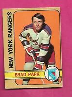 1972-73 OPC # 114 RANGERS BRAD PARK GOOD CARD (INV# C8972)