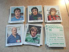 original FOOTBALL STICKERS PANINI FOOT 78 1978 FRANCE Choisir dans liste