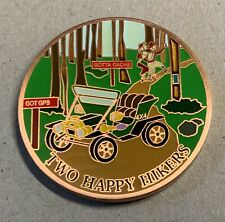 2007 Two Happy Hikers Geocoin