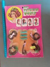 ACCESSORI BAMBOLE DOLL VINTAGE MISS FASHION WORLD HAIR BOUTIQUE x Barbie ecc