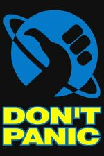 Hitchhikers Guide To The Galaxy Dont Panic Poster 24x36
