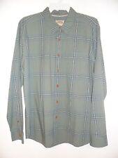 "QUIKSILVER Men's L/S Button Shirt ""Bahia"" GNB0 - Medium - NWT"