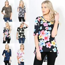 Women's Floral 3/4 Sleeve Sleeve Tops & Shirts