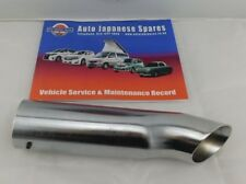 MAZDA BONGO 1995-2002 REAR CHROME END PIPE FITS ALL - FREE SERVICE BOOKLET