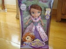 "Disney Princess Sofia the First 10"" Doll #53 Never Stop Trying"