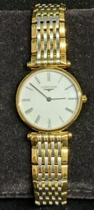 Stunning Longines La Grande Classique Gold Plated & Stainless Steel Ladies Watch