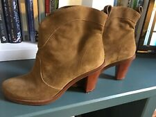 ROBERT CLERGERIE SUEDE BOOTS SIZE 6