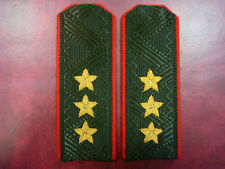 Russian Army Land-Forces Shoulder Boards Straps Epaulets Colonel General 3 Stars