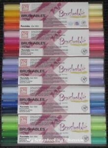 Kuretake Zig BRUSHABLES Pens 4pk (Choose from 4 Packs) Dual Tipped Brush