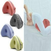 Leg Pillow Contour Memory Foam Orthopaedic Pillow Back Hips Knee Relief Support