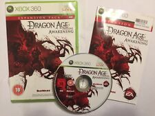 PAL XBOX 360 GAME EXPANSION PACK DRAGON AGE ORIGINS AWAKENING +BOXED