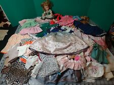 Vintage Doll Clothes Lot 120+ Pieces 5 Pounds Including Ideal ST-12