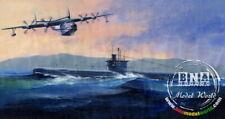 HobbyBoss Model Kit 1/350 Plan Type 033 Submarine & Sh-5 Flying Boat HB83515
