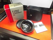 Canon C-8 Attachment 43 Lens Wide Angle Lens Complete