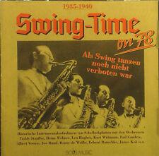 CD SWING-TIME ON 78 - als swing tanzen noch nicht verboten war, Bob's Music