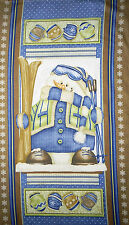 Christmas Snow Much Fun Shelly Comiskey for Henry Glass Snowman Panel Flannel