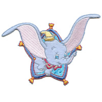 """Underdog Super Hero Flying 3 1//2/"""" Tall Embroidered Iron on SET of 3 PATCHES"""