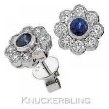 18 Carat White Gold Sapphire Fine Jewellery