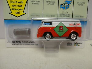 Johnny Lightning '60 VW VAN Free Parking MONOPOLY 1960 Van RED Variation