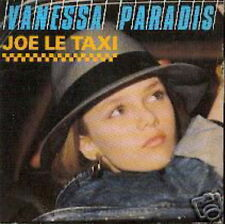 VANESSA PARADIS 45 TOURS GERMANY JOE LE TAXI