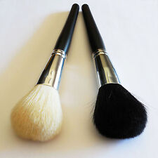 2pc Beautydec Black Large Face Powder Brush Goat Hair Cosmetic Bare Makeup Brush