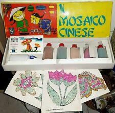 IL MOSAICO CINESE - Gioco Tempere Colori Disegni CARTA Origami Domino Shangai