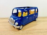 Sylvanian Families Blue Seven Seater Car Van Baby Seats Set
