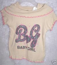 0104 - Beige Off-Shoulder Baby Girl Top Size 4
