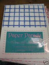 Scrapbooking & Stamping Acid Free Paper (15 )bright blue