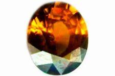"""19thC Antique 3ct Zircon Ancient India Hindu Poem Mythical """"Kapla"""" Gemstone Tree"""