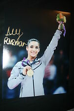 ALY RAISMAN SIGNED 11x14 photo DC/COA (2012 OLYMPICS) DANCING WITH THE STARS