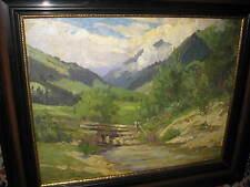 PLÄNCKER Lonny von, *1863 Wundervolle Bachlandschaft