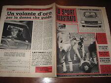 LO SPORT ILLUSTRATO GAZZETTA 1965/46 MASPES BOLOGNA MILAN NAPOLI VARESE CAGLIARI