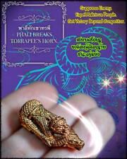 Giant Phali Break Horn Arjarn O Thai Amulet Win Enemy Powerful Lucky Forever LP