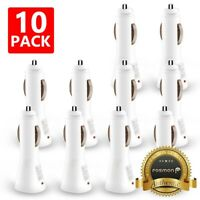 10x Wholesale Lot Car Charger USB Adapter Samsung Galaxy S10 Note iPhone XS Max