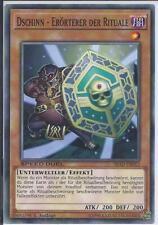 Mint 3 x Schwarzer-Glanz-Ritual YGLD-DEA36 Common
