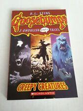 Creepy Creatures Goosebumps 3 Ghoulish Graphix Tales by R.L. Stine Scholastic