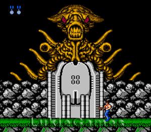 Contra - Rare Original NES Nintendo Fun Game