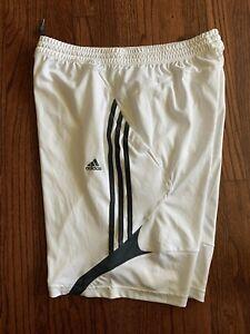 Adidas Mens White Shorts Size Large