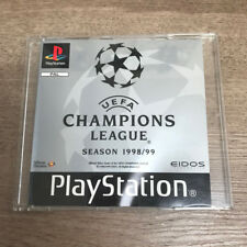 Champions League 1998/99 (MANUAL + CASE ONLY, NO DISC) for Sony Playstation 1
