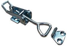 8 x Pequeño Sujetadores cierre atrapar Abrazadera sobre centro Sujetador Remolque Horsebox