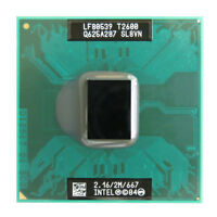 Intel Core Duo T2600 2.16 GHz 2MB 667MHz Processor SL8VN SL9JN mobile laptop cpu