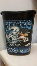 Cowboys little dude Football Nfl Trashcan trash cartoon kitchen mancave sports