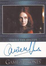 "Game of Thrones Season 3 - Carice Van Houten ""Melisandre"" Autograph Card"