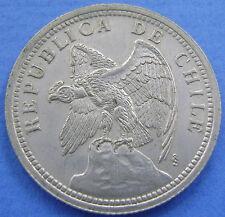 Chili - 1 Peso 1933 Un Peso 1933 - KM# 176.1 - Nice.