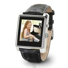 The Photo and Video Smart Watch Black 8X Digital Zoom Anti-Shake Leather Band