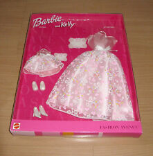 New Barbie Doll Fashion Avenue Barbie & Kelly Pink Evening Outfits At the Ball